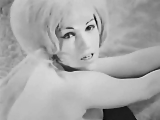Lady Shows All 86 (Black and White Vintage)