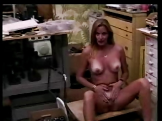 Hot Blond having some fun