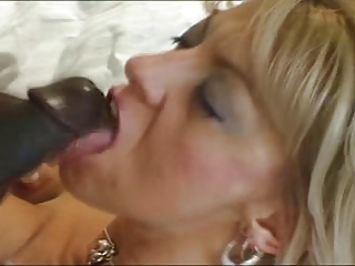 Hot Blonde MILF & BBC