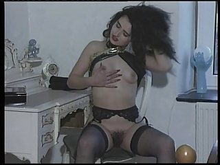 Susanna Francessca nice strip in a bedroom