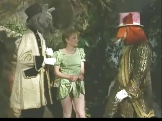 Vintage Furry Gang Bang Porking In Wonderland