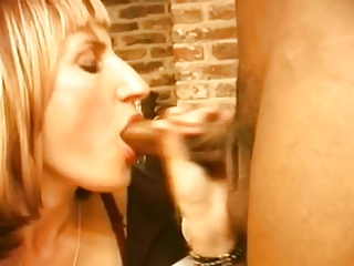 MILF interracial creampie
